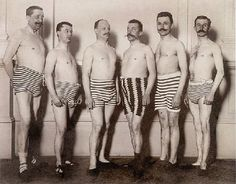 Let's go swimming, chaps!