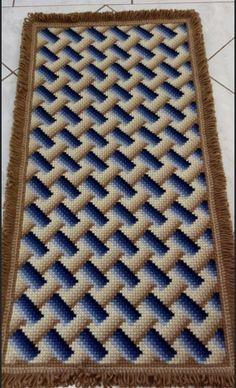 Cross Stitch Embroidery, Rugs, Home Decor, Farmhouse Rugs, Decoration Home, Room Decor, Home Interior Design, Rug, Home Decoration