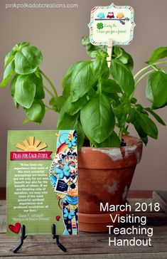Here is the March 2018 Visiting Teaching Handout! Time is just flying by…it is soon going to be spring and we will be into another season! This month we will celebrate St. Paddy's Day, so I went with that for the handout. Visiting teaching handouts are for the Relief Society program in The Church of … Continue reading March 2018 Visiting Teaching Handout →