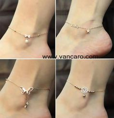 Vancaro.com anklets