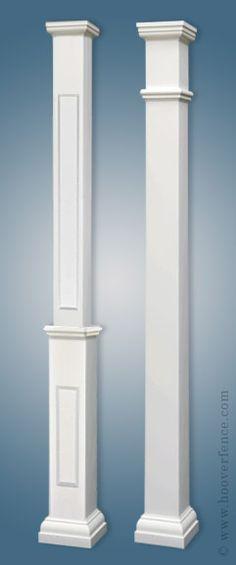 Structural Square Porch Columns More