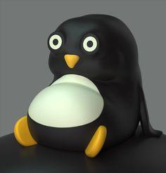 Jouets design pingouin