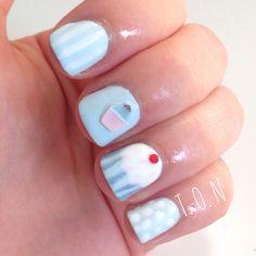 sweet nail art#prom