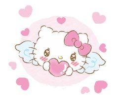 Hello Kitty shared by GLen =^● 。●^= on We Heart It Hello Kitty Baby, Hello Kitty Images, Hello Kitty My Melody, Sanrio Hello Kitty, Hello Hello, Hello Kitty Iphone Wallpaper, Hello Kitty Backgrounds, Daddy's Little Boy, Little Twin Stars