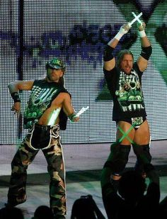 .the best tag team ever!! DX and if your not down w/that I got 2 words for uuu......