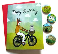 Cute card from pappersparrow (on etsy)