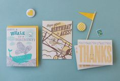 Custom Wedding Invitations and Stationery by Hello! Lucky | Oh So Beautiful Paper