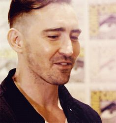 Anything and Everything — theheirsofdurin:   Lee Pace at SDCC 2013 (x)    so...