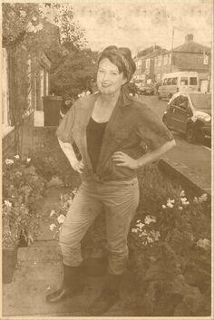 Yanks Weekend OOTD Land Girl 1940's wartime fashion #yanks #yanksweekend Saddleworth