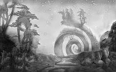 """""""…la existencia de una antigua raza terrestre, obligada a ocultarse luego de la aparición del hombre y que podía haber sobrevivido parcialmente hasta una época bastante cercana; quizá hasta la nuestra"""". H.P. Lovecraft en """"El que susurraba en las tinieblas"""""""