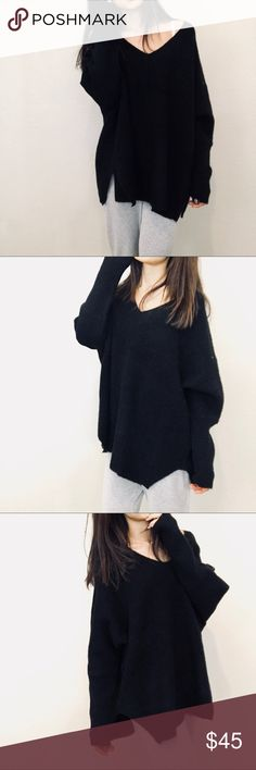 """Brand new oversized sweater - usual days Brand new  Size L Length 28"""" Bust 60"""" Sweaters"""