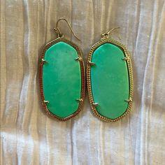 Kendra Scott turquoise Danielle earrings Great condition Kendra Scott Jewelry Earrings