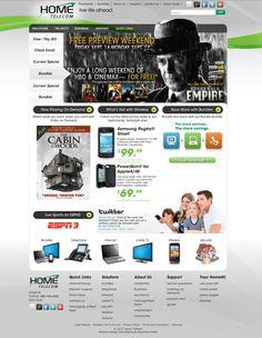 Home SC #website #telecommunications #bluetonemedia @Michelle LeMasters