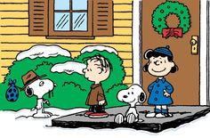 Winter, Snoopy, Spike Rerun and Lucy. I Want A Dog For Christmas, Charlie Brown. My absolute fave!