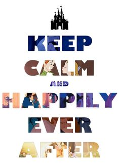 Keep Calm and Disney