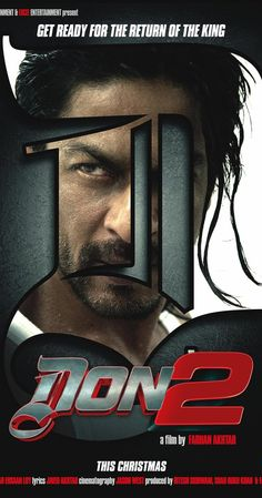 Directed by Farhan Akhtar.  With Shah Rukh Khan, Florian Lukas, Om Puri, Priyanka Chopra. An international gangster turns himself in, then dramatically escapes - only to face treachery and betrayal.