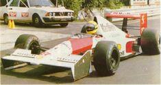 Experimental McLaren MP4/5B with Senna
