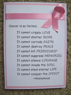 Card: Breast Cancer Card