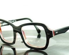 eyeglasses made from recycled vinyl!!!!