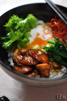 「焼き鳥親子丼」|レシピブログ