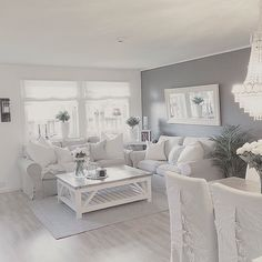 ♔ @enticemedear ♔ Home Living Room, Living Room Designs, Living Room Decor, Salons Cosy, House Inside, Beautiful Living Rooms, Home And Deco, Living Room Inspiration, Modern House Design
