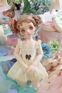 Weedy - Sugary Wonderland - Mint on Card BJD Mobile Thing 1, Drawing Clothes, Bjd Dolls, Cute Dolls, Ball Jointed Dolls, Fashion Dolls, Doll Clothes, Wonderland, Ideas