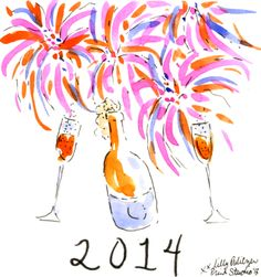Cheers to 2014! #lilly5x5