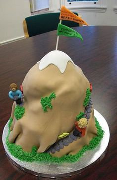 Awesome Appalachian Trail Groom S Cake Complete With