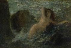 Henri Fantin-Latour (1836 - 1904), Ondine (ou La Mer)