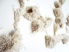 Paperclay, Fabric Manipulation, Texture Art, My Little Girl, Rowan, Fiber Art, Concept Art, Dandelion, Clay Clay