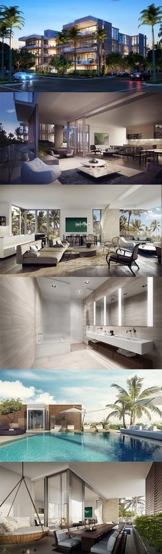 Take a tour of the newly constructed L'Atelier Residences located in the heart of trendy Miami.