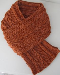 Aran Seaweed Scarf by Jane Reay, pattern available on LoveKnitting. Informations About Aran Seaweed Knitting Patterns Free, Knit Patterns, Free Knitting, Knit Crochet, Crochet Hats, Knitted Cowls, Knitted Scarves, Knit Cowl, Crochet Granny