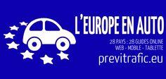 #EUROPE & #ROUTE 28 pays, 28 guides pratiques pour découvrir toutes les règles du code de la route et quelques particularités étonnantes.  Un nouveau service de minicircul l'@gence disponible sur le web, mobile et tablette previtrafic.eu http://previtrafic.eu/