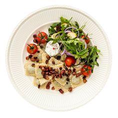Måltidskasser (fx årstiderne), også gerne fisk og vegetar