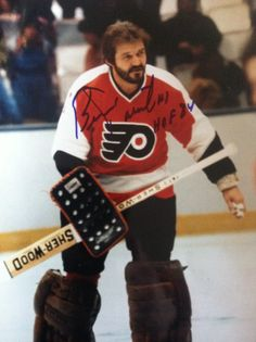 Bernie Parent the Hall of Fame Goalie of the Philadelphia Flyers