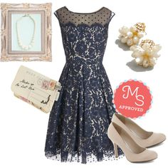 """""""Chandelier to Ear Dress"""" by modcloth on Polyvore"""