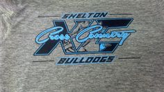 Shelton High School Cross Country Bulldogs - t-shirt - design - screen print - Kearney,NE - Shirt Shack www.shirtshackkearney.com