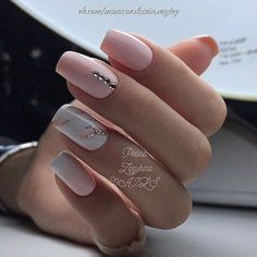 Cute Nail Designs For Spring – Your Beautiful Nails Classy Nails, Fancy Nails, Love Nails, How To Do Nails, Pretty Nails, Nail Swag, Nail Manicure, Diy Nails, Gel Nagel Design