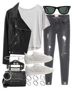 Untitled #1977 by alx97 ❤ liked on Polyvore featuring Athleta, Yves Saint Laurent, Givenchy, Acne Studios, adidas, Michael Kors, ASOS, Humble Chic and Ray-Ban