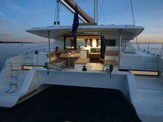 Après le superbe catamaran Sanya 57 (baptisé à Lorient par sa marraine, Isabelle Racoupeau, designer intérieur du cabinet Berret Racoupeau), le chantier Ro