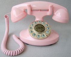 unusual old phones | vintage antique style cute corded telephone 1922 brand pailamen type ...