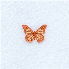 Mini Butterfly embroidery design from embroiderydesigns.com