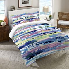Silky Designs Duvet Cover and Shams – Laural Home