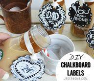 How to make Chalkboa on DIY and Craft