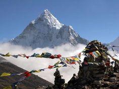 Mt. Everest Base Camp, Himalayas, Nepal