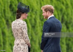 Catherine, Duchess of Cambridge and Prince Harry attend a Commemoration of the Centenary of the Battle of the Somme at The Commonwealth War Graves Commission Thiepval Memorial on July 01, 2016 in Thiepval, France.