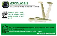 Escoliosis – Estiramiento de aductores