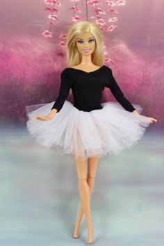 Fashion Handmade Ballet Dress Clothes Outfit for Barbie Doll L02B   eBay