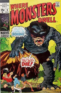 Where Monsters Dwell 9 - Bombu
