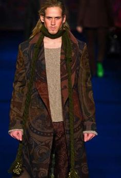 The Etro Fall 2013 Men's Collection is Overzealous #mensfashion #fashiontrends
